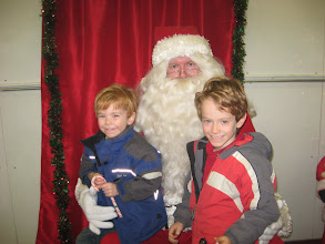 Photo: Walter and William with Santa. Photo courtesy of Chandra Neils. Please send your Breakfast with Santa photos to Joan at admin@hauserfire.org Thank you!