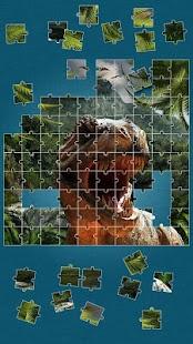 Dinosaurus Skládačka Hra - náhled