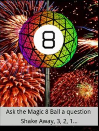 New Years Eve Magic 8 Ball