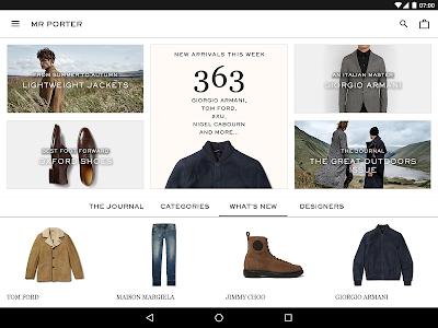 MR PORTER screenshot 5