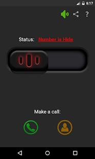 Hide My Number Pro Screenshot