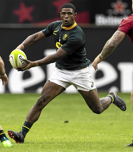 Make a move: Warrick Gelant, in action against Wales in Washington in early June, is one of five changes to the Bok starting line-up for Saturday's third Test in Cape Town against England. Picture: GALLO IMAGES
