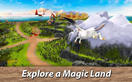 ud83eudd84ud83cudf08u2764ufe0f Pegasus Simulator: Flying ud83dudc0e Horse Survival 1.1 screenshots 2