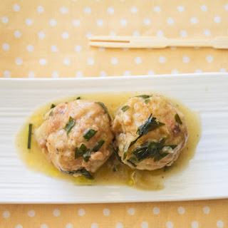 Hake and Prawn Balls With Green Sauce.