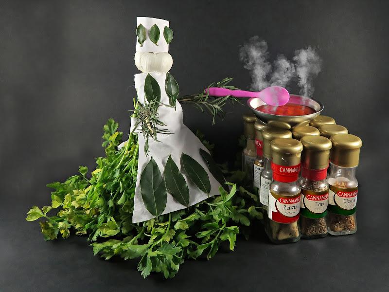 Cannamela: aromi in cucina di Yoyo