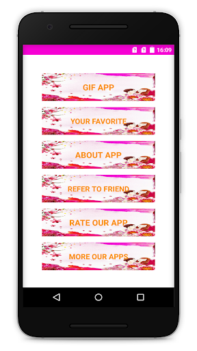 Mother Day GIF App Report on Mobile Action - App Store