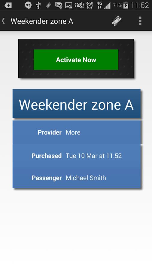 morebus - screenshot