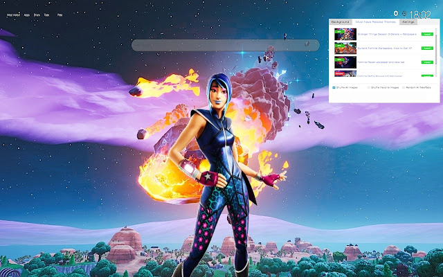 Sparkle Supreme Fortnite Skin Wallpapers