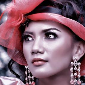 Maria Aya by Joey Bangun - People Portraits of Women