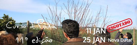 Poda em Árvores de Fruto – 25 Jan 2020 (Curso Básico 11ª edição) e 1 Fev 2020 (Curso Avançado 4ª edição)