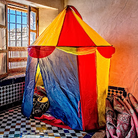 Tent by Richard Michael Lingo - Artistic Objects Toys ( artistic objects, tend, toys, color, window )