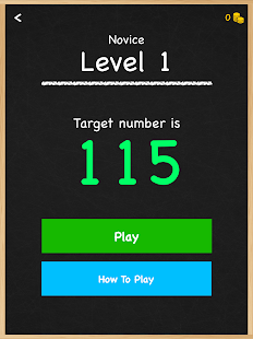 Numbers Game Math Brain Puzzle- screenshot thumbnail