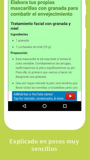 Trucos y Consejos de Belleza Caseros 1.05 screenshots 2