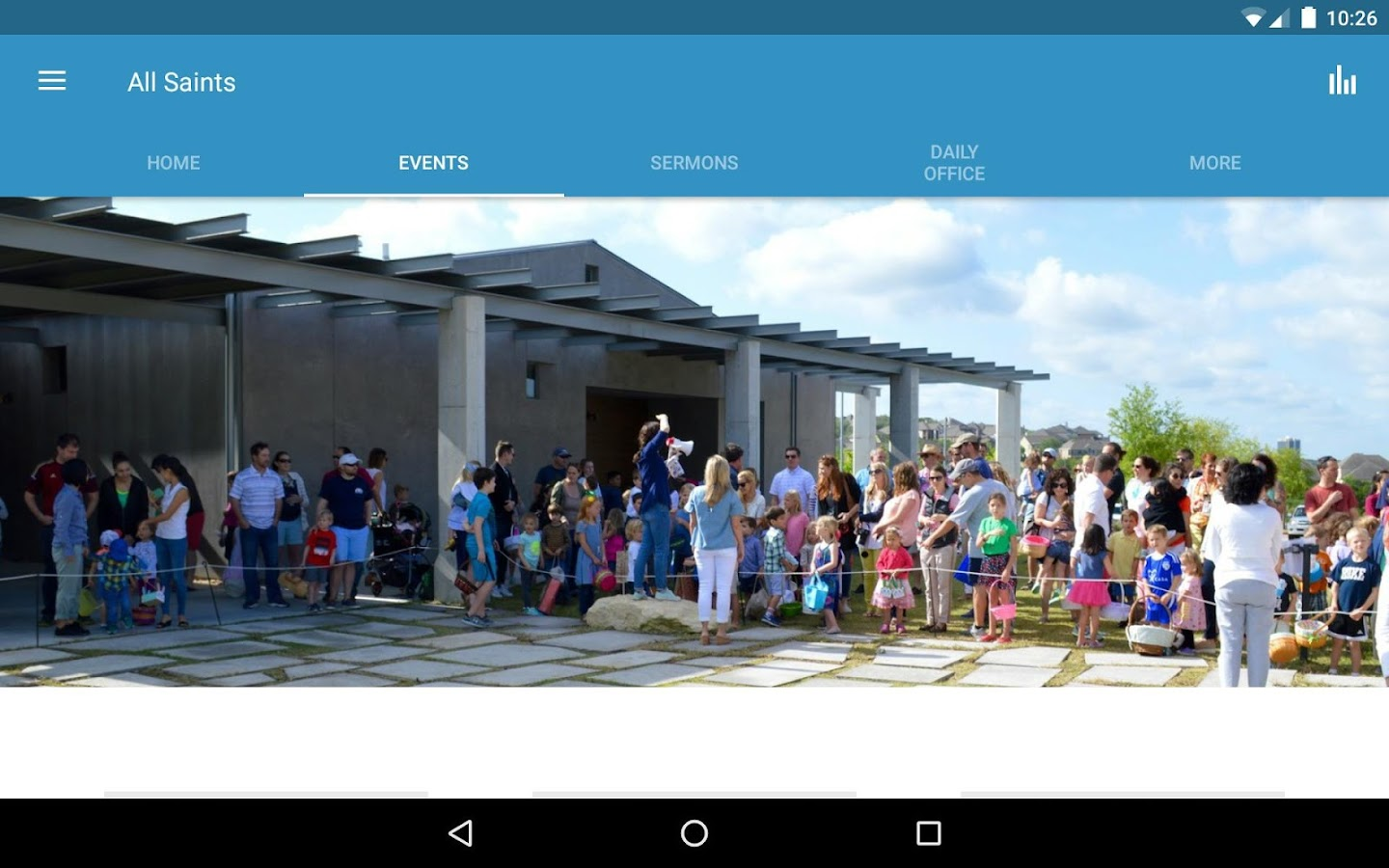 All Saints Presbyterian Austin- screenshot