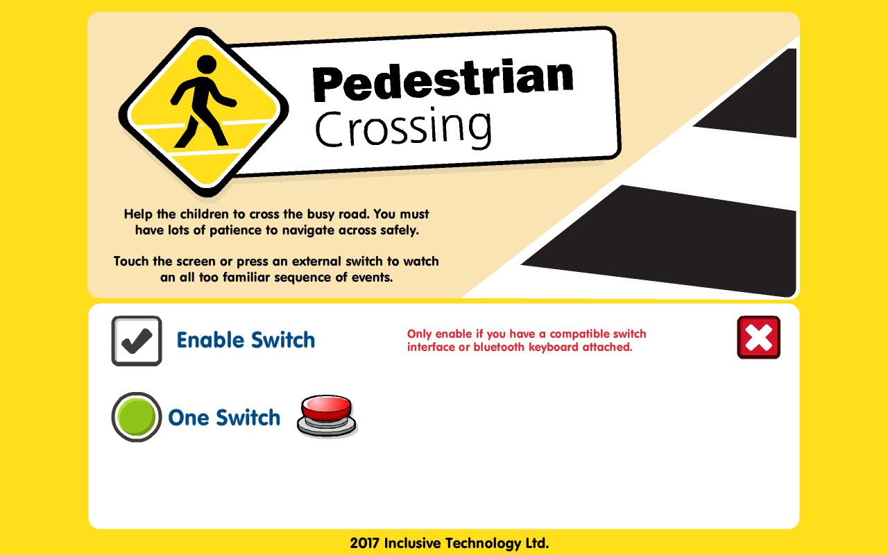 Pedestrian Crossing- screenshot