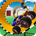 3D Monster Truck Tricky Stunts icon
