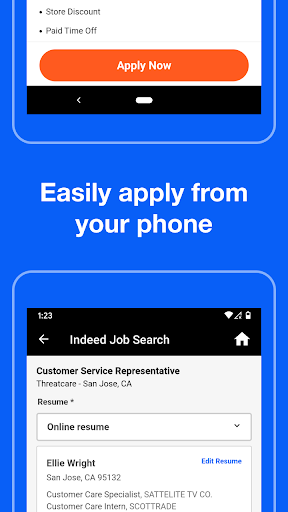 Indeed Job Search 37.0 screenshots 1