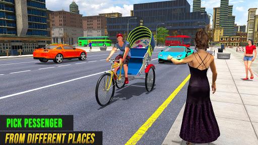 Bicycle Tuk Tuk Auto Rickshaw : New Driving Games screenshots 5