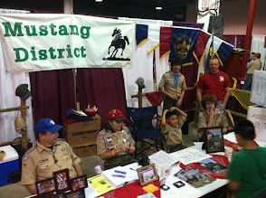 Photo: District booth at Scout Fair