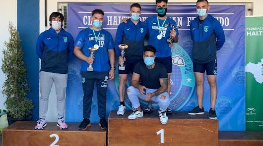 El CD Halterejido arrasa como campeón de Andalucía absoluto