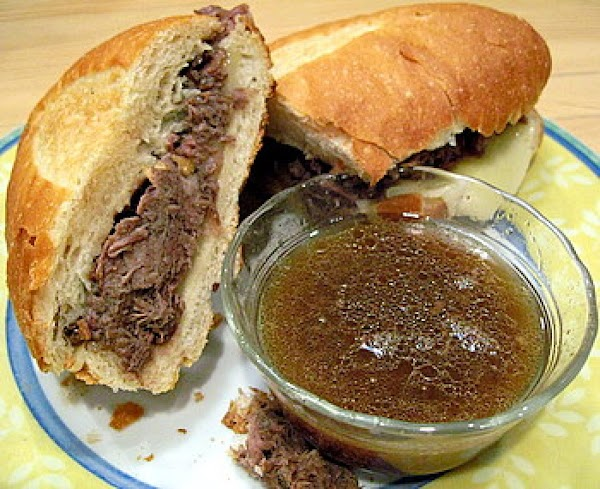 Slow Cooker French Dip Sandwiches Recipe