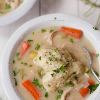 Easy Chicken and Dumplings.