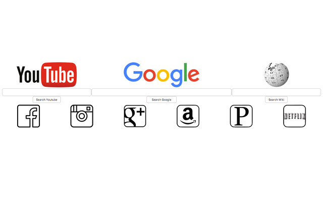 New Tab Search Bars