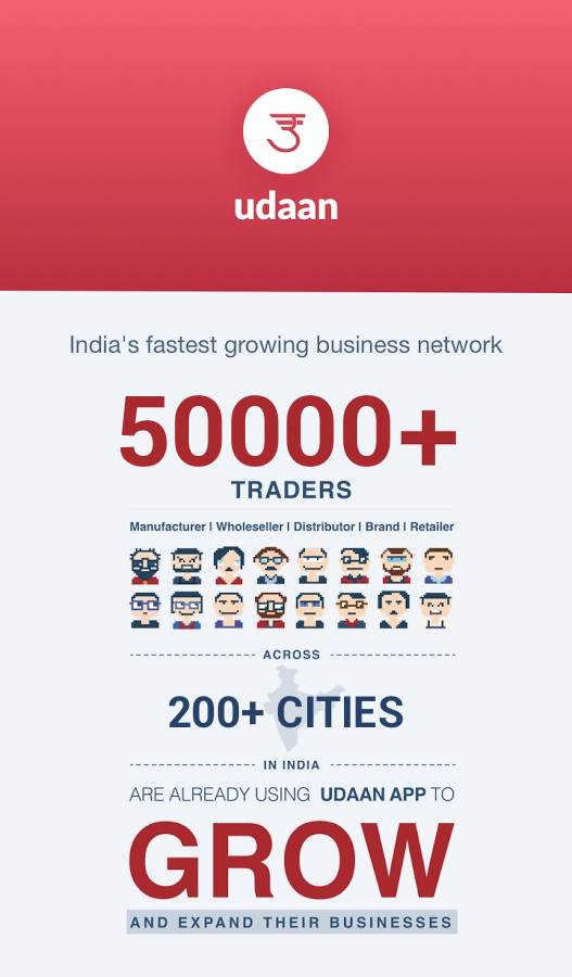 udaan: Online trading in India- screenshot