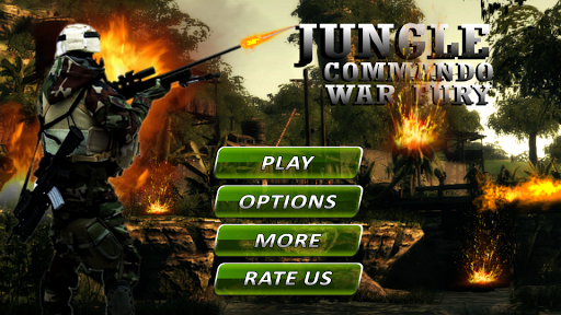 Jungle Commando War Fury