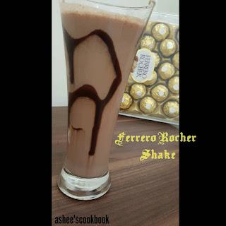 Ferrero Rocher Shake...
