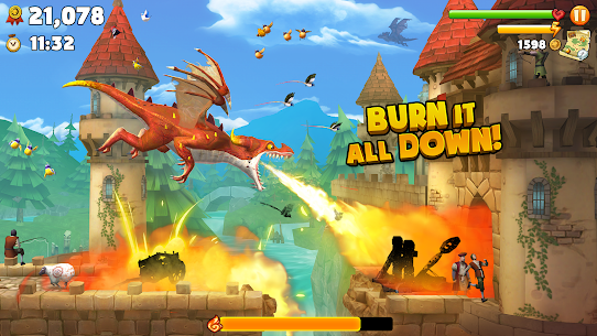 Hungry Dragon MOD Apk 2.10 (Unlimited Money) 1