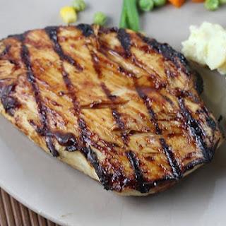 Barbecued Buttermilk Chicken Breasts