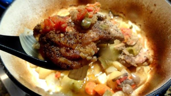 Mexican Green Chile Hot Pot--bonnie's Recipe