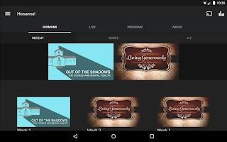 Screenshot of Hosanna! Church