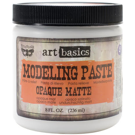 Prima  Finnabair Art Basics Modeling Paste 236ml - Opaque Matte