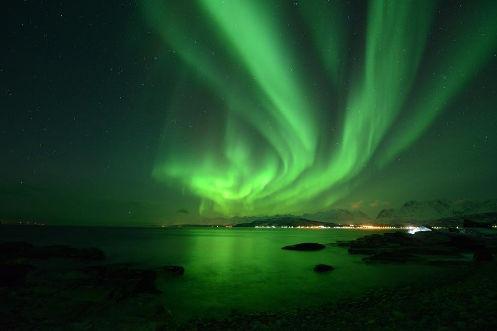 A nossa experiência a observar AURORAS BOREAIS numa Estação Base   Noruega