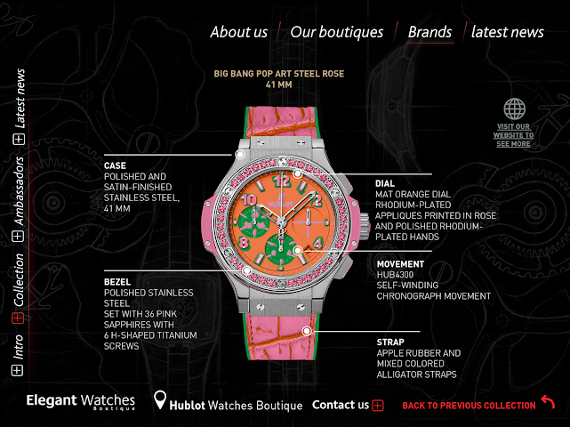 android Elegant Watches Boutique Screenshot 9