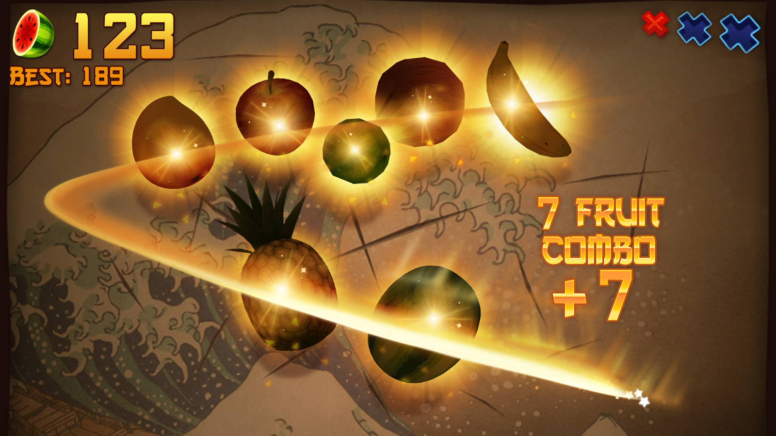 Fruit Ninja Free: captura de tela