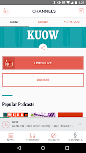 KUOW Puget Sound Public Radio- screenshot thumbnail