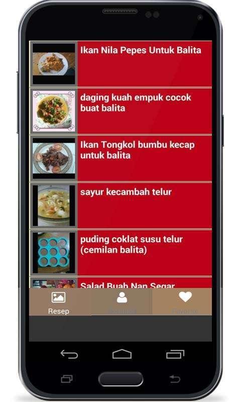Image Result For Resep Masakan Balita Tahun