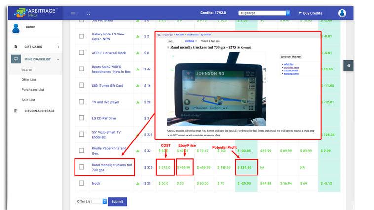 Arbitrage Pro Review - Screenshot 02