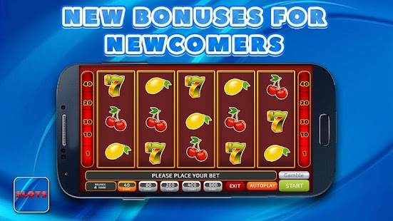 Slots and slot machines online - náhled