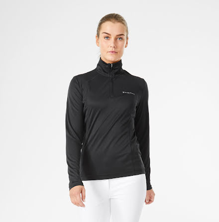 Halo 1/2 zip Funktionströja Black