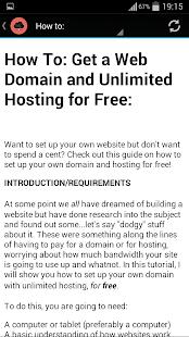 domain host: