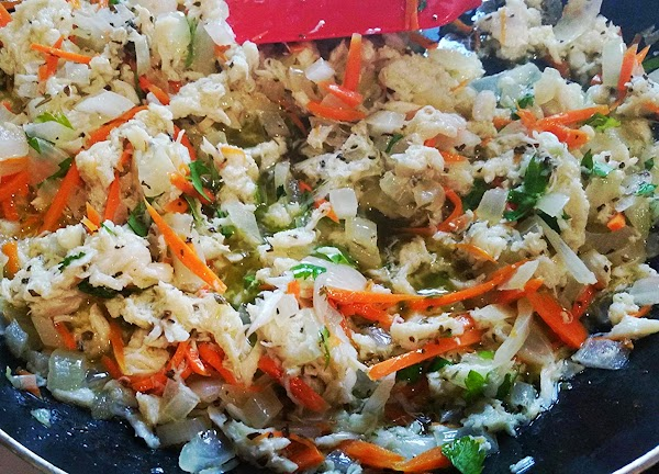 Reduce heat to medium and add the crab, basil, lemon juice and parsley, continue...
