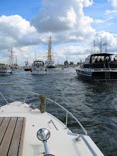 Photo: Mijn ONJ Loodsboot Wittekop mee in de stoet.
