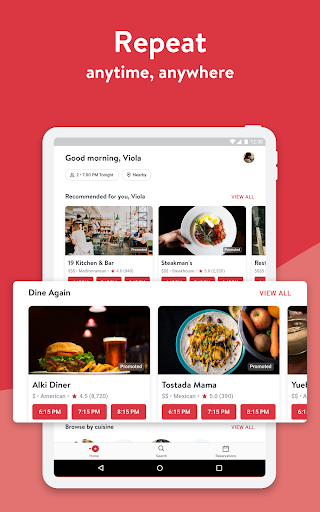 OpenTable: Restaurants Near Me 13.19.1.3396 screenshots 9