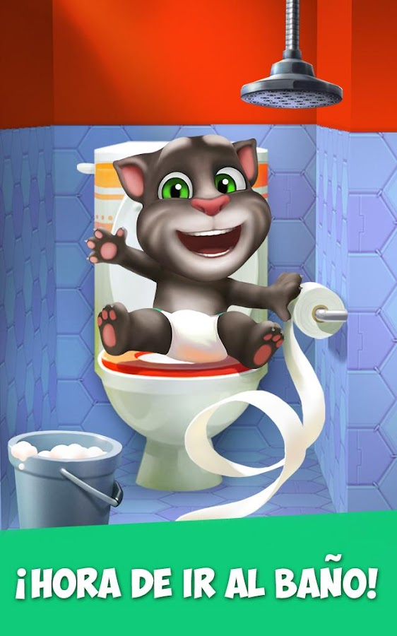 Mi Talking Tom: captura de pantalla