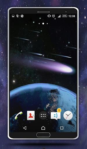 無料个人化Appの彗星ライブ壁紙|記事Game