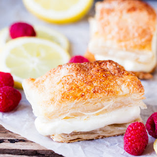 Zesty Lemon Cream Cheese Puffs